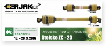 Agrotech, Kielce 2016 is approaching